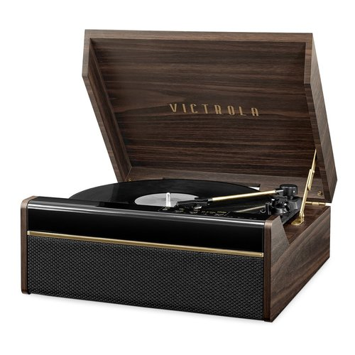 View Larger Image of 3-in-1 Avery Bluetooth Record Player with 3-Speed Turntable