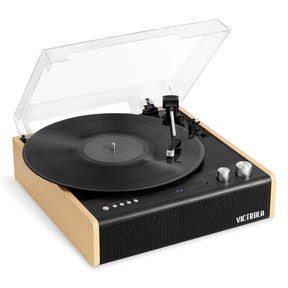 Eastwood 3-Speed Dual-Bluetooth Hybrid Turntable