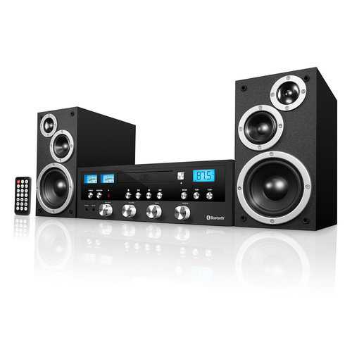 View Larger Image of Innovative Technology 50 Watt Classic CD Stereo with Bluetooth