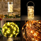 View Larger Image of Innovative Technology Indoor/Outdoor LED Bendable Wire Lights - 33 ft. (Warm White)