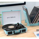 View Larger Image of Journey+ Bluetooth Suitcase Record Player with Matching Record Stand