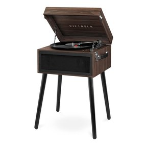 Liberty Bluetooth Record Player Stand with 3-Speed Turntable