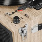 View Larger Image of Liberty Bluetooth Record Player Stand with 3-Speed Turntable