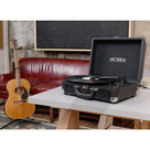 View Larger Image of The Journey Bluetooth Suitcase Record Player with 3-speed Turntable
