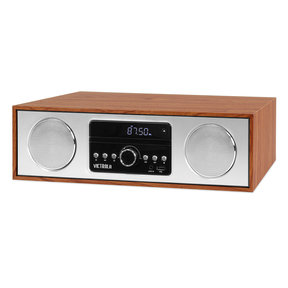 VS-120-MPL Bluetooth Microsystem with CD, USB and Radio (Maple)