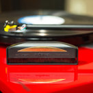 """View Larger Image of Record Care Kit with 12"""" Modern Series Cork Slipmat and Anti-Static Record Brush"""