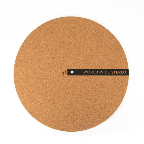 """View Larger Image of 12"""" Cork Turntable Slipmat - 2019 Edition"""