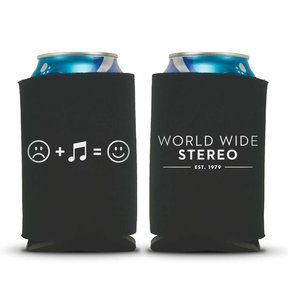 Music Makes Us Happy Beverage Can Koozies - 2 Pack