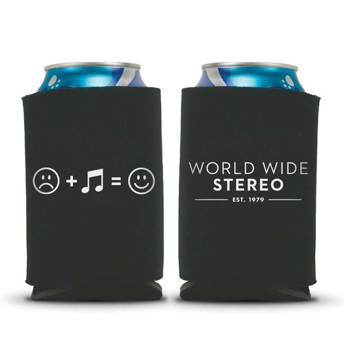 View Larger Image of Music Makes Us Happy Beverage Can Koozies - 2 Pack