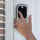 View Larger Image of Assure Lock Touchscreen Deadbolt with Z-Wave (Satin Nickel)