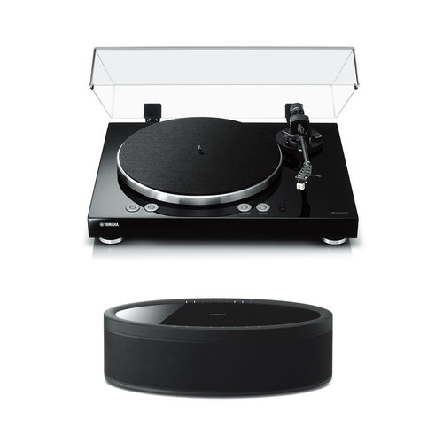 View Larger Image of MusicCast Vinyl 500 Turntable with MusicCast 50 Wireless Speaker