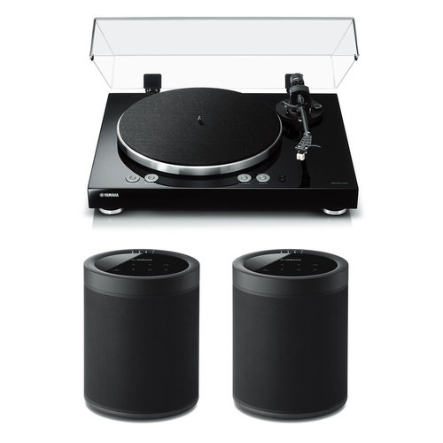 View Larger Image of MusicCast Vinyl 500 Turntable with MusicCast 20 Wireless Speakers - Pair